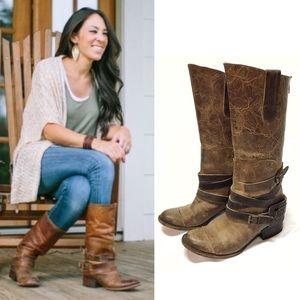 """Freebird by Steven """"Dakota"""" Leather Boots Size 9"""